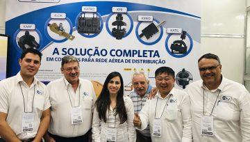 KRJ obtém resultados positivos com nova linha de conectores perfurantes lançados na FIEE Smart Future